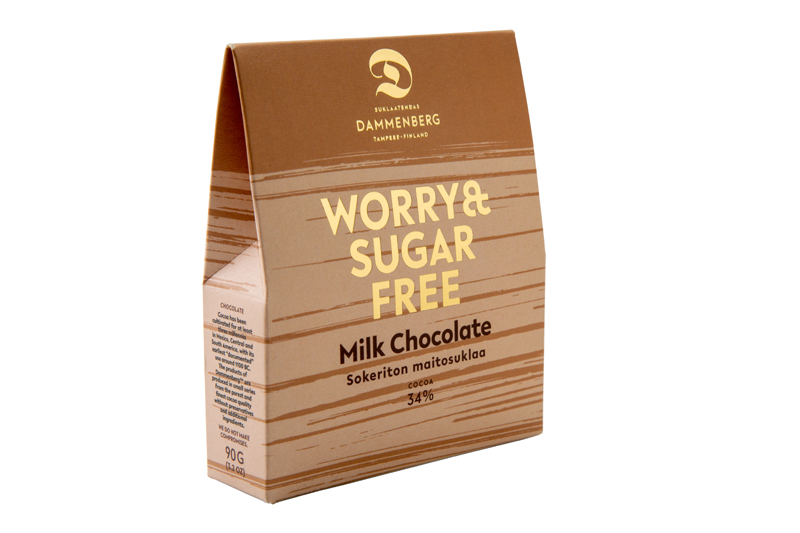 No Added Sugar Milk Chocolate Buttons 90g 32 Oz